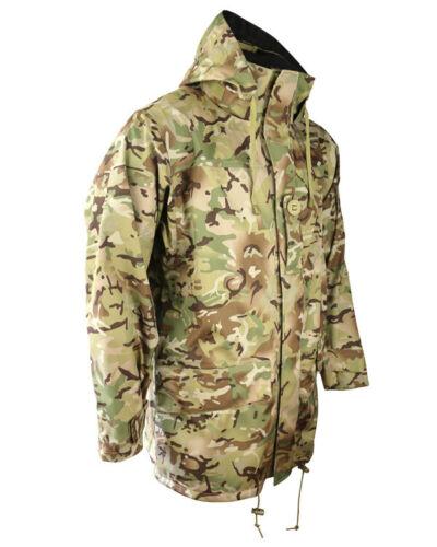 ARMY MOD KOM-TEX WATERPROOF SMOCK JACKET S-2XL RANK SLIDE CADET BTP MTP CAMO