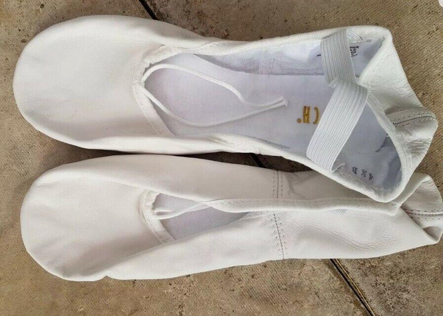 Bloch Women's Tap Dancing Ballet Shoes Pro Elastic Size 4.5B Colour White