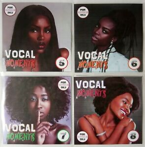 Details about 'Vocal Moments' Volumes 5-8 JUMBO pack 4CDs (5 Hours) Awesome  Vocal Reggae 2018