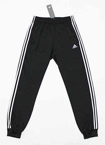 NWT ADIDAS Black-White Cuffed Men/'s Track Pocket Pants Small sweatpants jogger