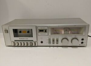 Technics-RS-M205-Stereo-Cassette-Deck-Vintage-TESTED