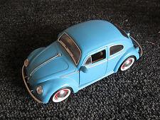 JADA Blue Volkswagen VW Beetle Scale Toy Car Bug 1:24 1959