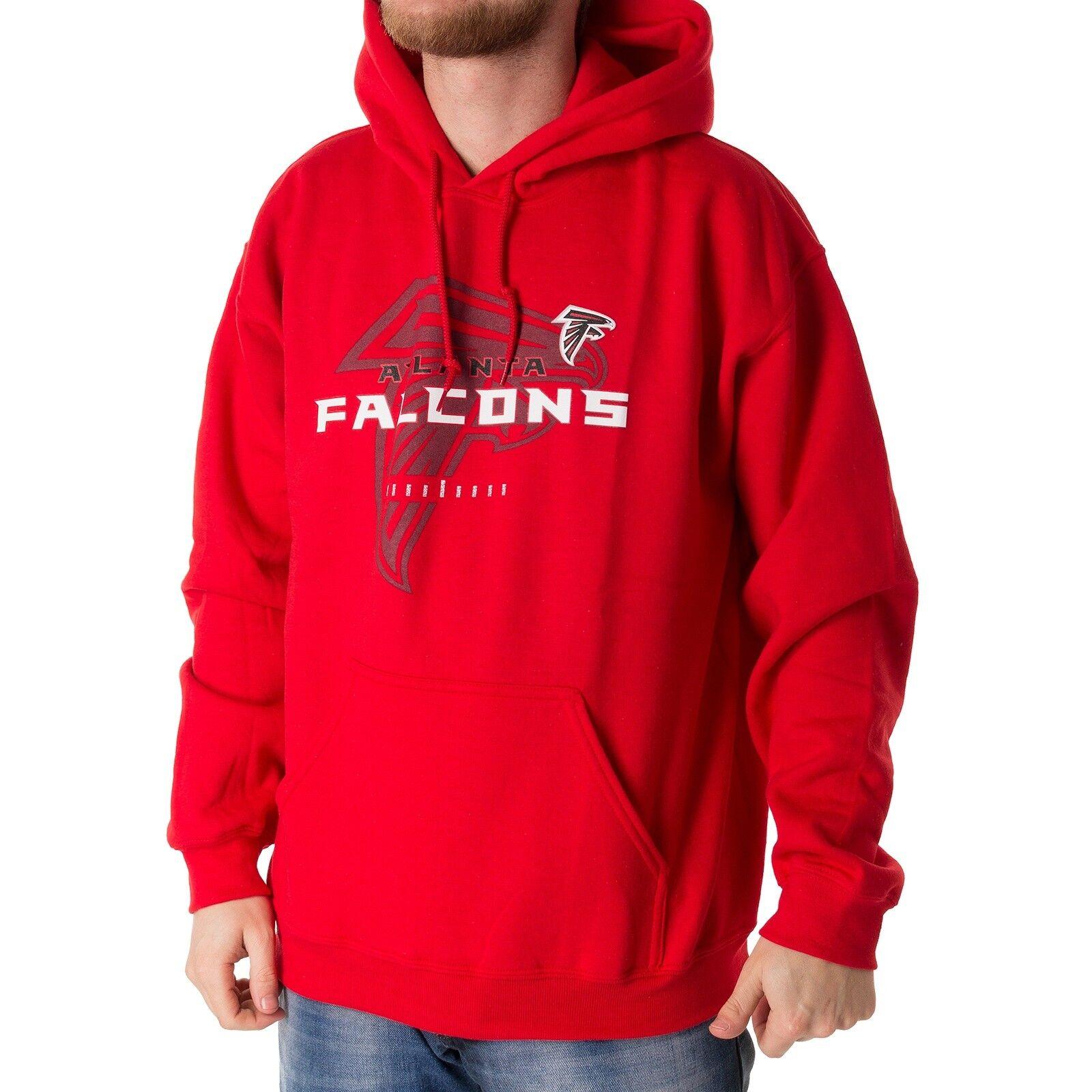 Majestic Majestic Majestic NFL Atlanta Falcons Hoodie Herren Kapuzenpullover rot 33884 0b7294