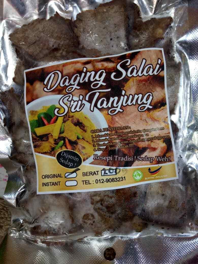 Daging Salai Sri Tanjung Sri Tanjung Smokey Beef Halal Toyyiban Ebay