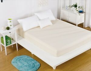 Image Is Loading Yellow Queen Size Fitted Bed Sheet Mattress Cover