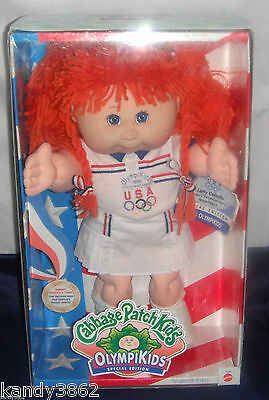 CPK Cabbage Patch Kids OLYMPIKIDS Special Ed 1996 Tennis MIB - Letty Celeste