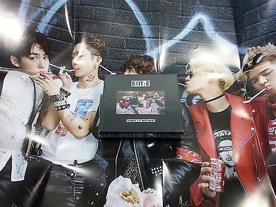 WINNER Mini album EXIT : E Alexandra Palace Ver. CD Polaroid Folded poster K-POP