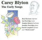 Carey Blyton: The Early Songs by Various Artists (CD, Jul-2008, Upbeat Jazz Records)