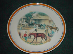 Image is loading Currier-and-Ives-Decorative-Dinner-Plates-034-A- & Currier and Ives Decorative Dinner Plates \