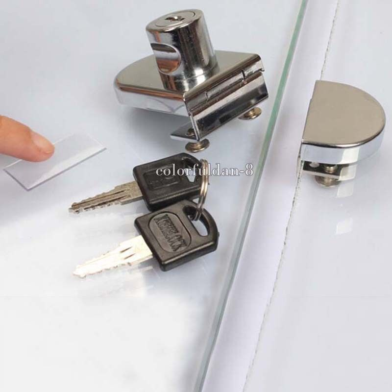 CRL Chrome Keyed Alike Lock for Cabinet Sliding Glass Door
