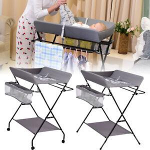 Table A Langer Avec Baignoire Babysun Nursery Neuf Pliable De Table A Langer Ebay