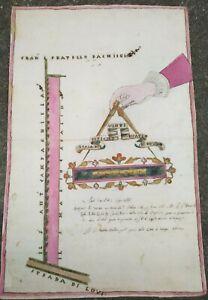 1666-ROVIGOTO-ECCEZIONALE-DISEGNO-DEI-TERRENI-DI-FRATTESINA-POLESINE-GRIGNANO