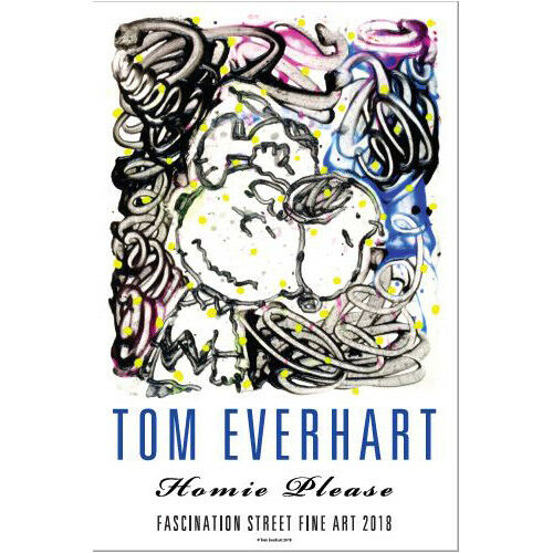 Tom Everhart Hand Signed 2018 Show Poster