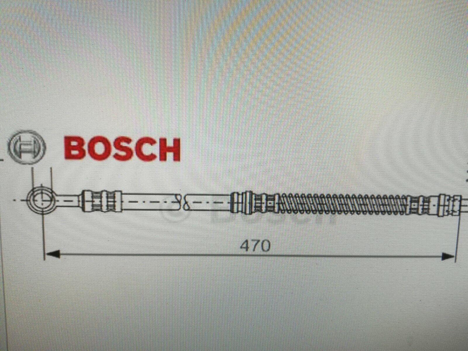 Bremsschlauch MAPCO 3695 vorne für MITSUBISHI VOLVO