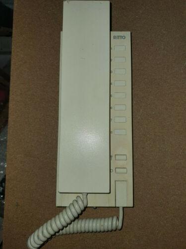 Ritto 6630//00 Wohntelefon elegant weiß Haus Telefon Sprechanlage 6630.00