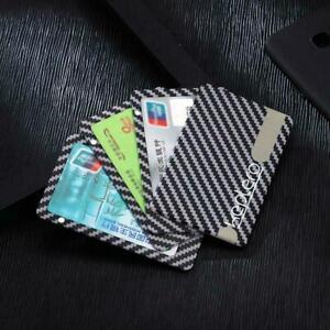Carbon-Fiber-Magnetic-Wallet-Modular-Slim-Light-Black-Card-Holder-Sell