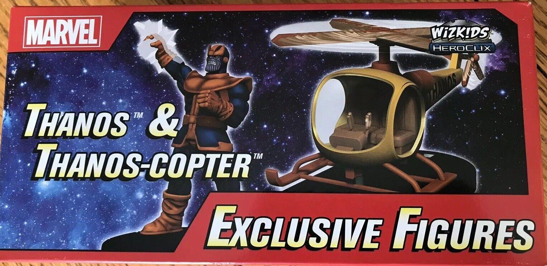 Marvel Heroclix-Thanos & Thanos-copter Convención Exclusiva figuras