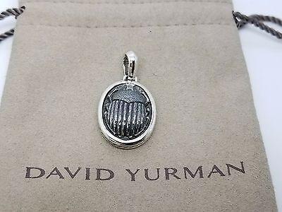David yurman fakes knock offs peddled by unscrupulous crooks david yurman sterling silver 925 scarab pendant amulet wpouch aloadofball Gallery