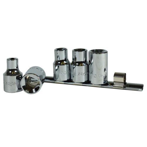 "1//2/"" Drive Triangular Profile Sockets For VAG TDI Engines Bosch Injectors 5pc"