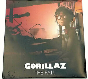 RSD-2019-Gorillaz-The-Fall-12-034-LP-Forest-Green-Vinyl-Record-Store-Day