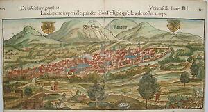 Landau-Pfalz-Bischof-Speyer-Muenster-meisterhaft-kolorierter-Holzschnitt-1552