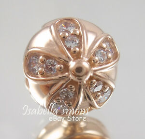 4a720f527 Image is loading DAZZLING-DAISIES-Genuine-PANDORA-Rose-GOLD-Plated-Cz-