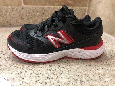 New Balance Kids Boy's 680v6 Running Shoes Sneakers Black/Red/White Size 13.5 | eBay