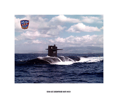 -Nuclear Powered Attack Submarine USS TOLEDO SSN 769 USN Navy Photo Print