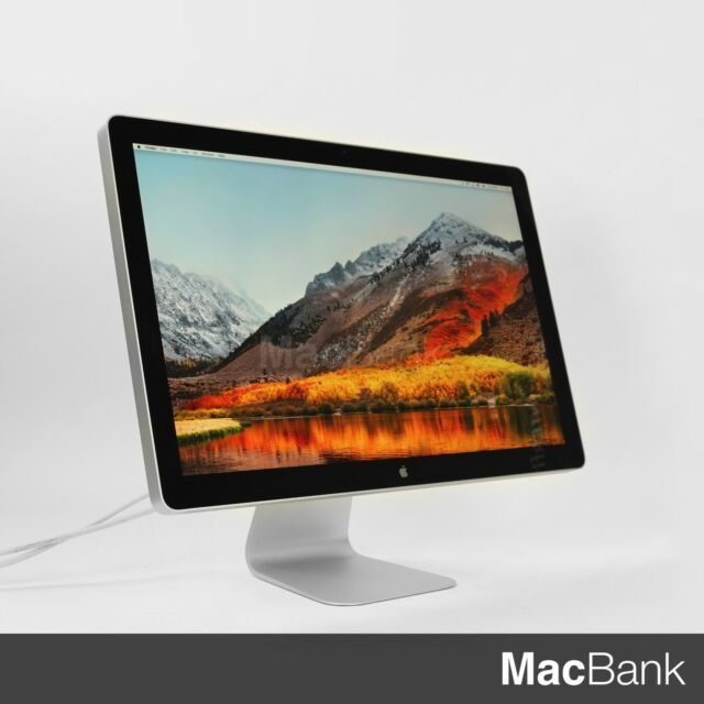 "Apple  Cinema LED Display 24""  Widescreen LCD Monitor"