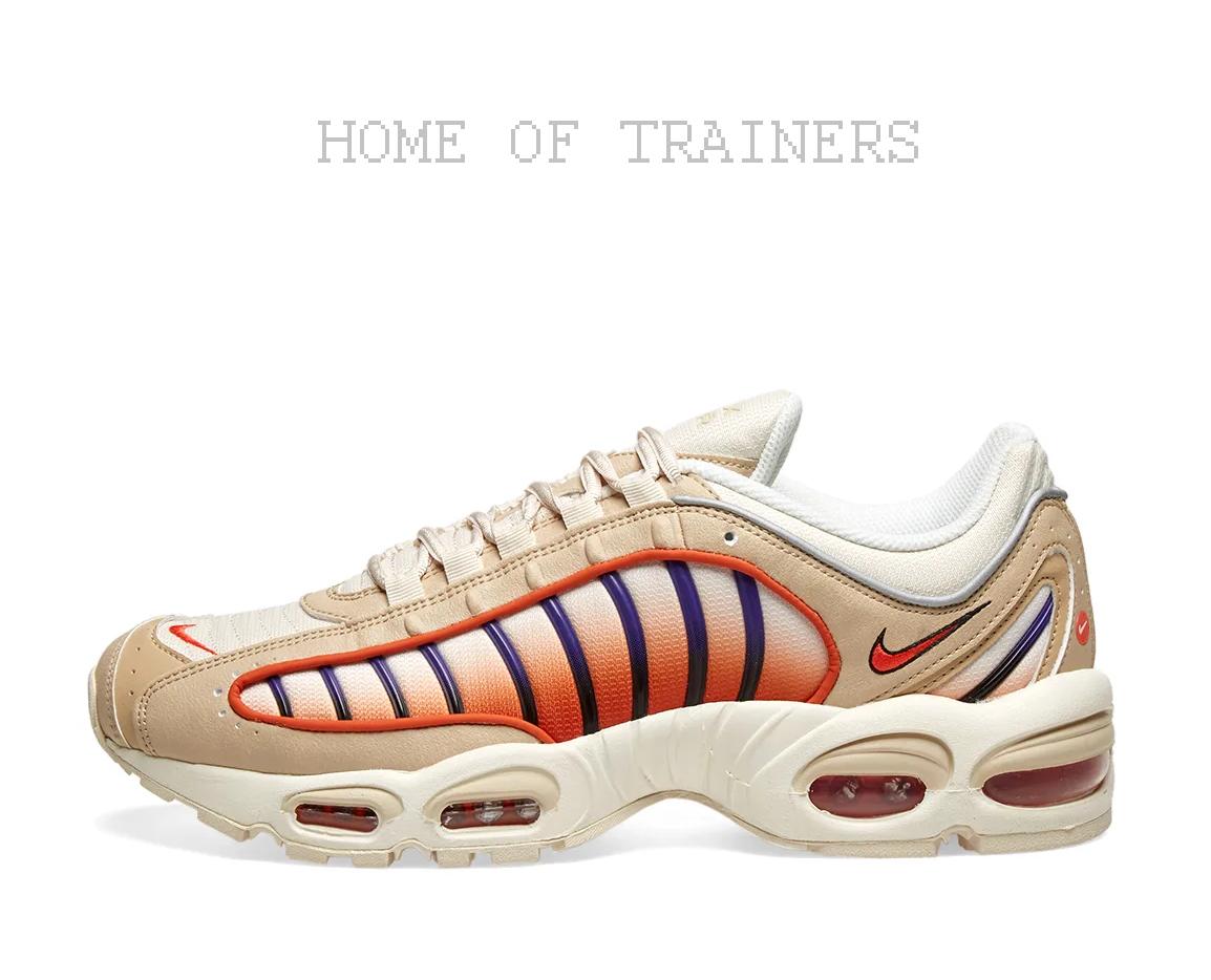 Nike Air Max viento en cola IV mineral naranja púrpura y Vela niñas Para mujeres de entrenadores