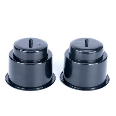 12PCS Excellent Recessed Plastic Cup Drink Can Holder with Drain-Black US EAN