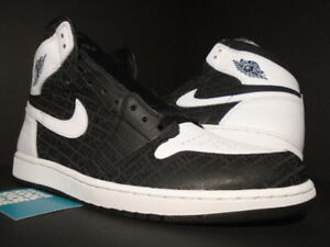 NIKE AIR JORDAN I RETRO 1 HIGH OG DEREK JETER RE2PECT RESPECT BLACK ... ff98b2db5