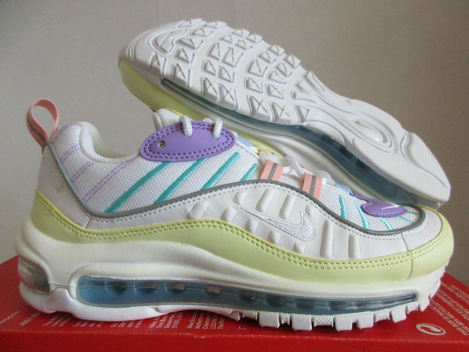 Size 7 - Nike Air Max 98 Easter Pastels for sale online | eBay
