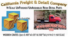 WOODEN CRATES/BOXES-LARGE (3pcs) N/1:160-California Freight & Details Co *NEW*