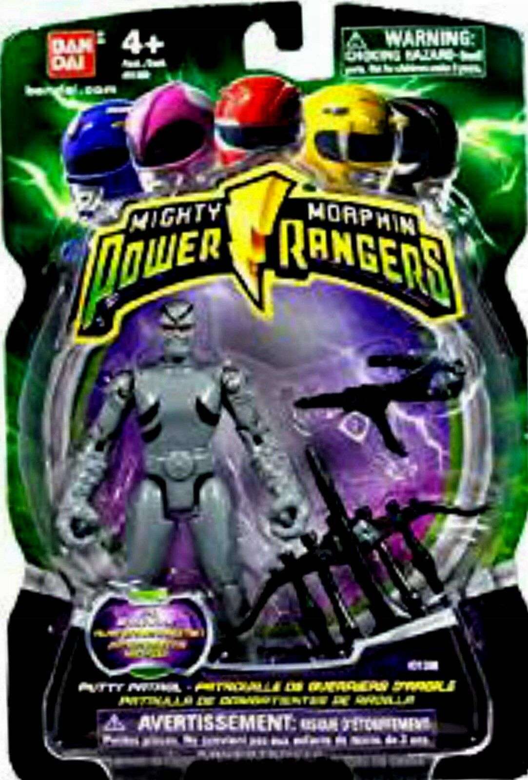 Mighty Morphin Power Rangers 4  Putty Patrol New 2010 Factory Sealed