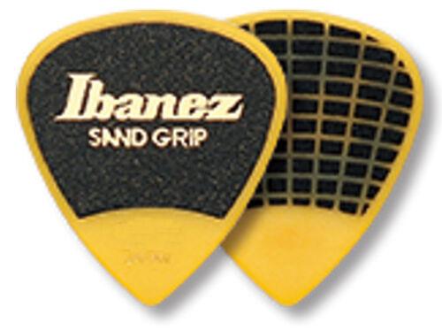 1,20 mm Ibanez Sandgrip Plektren PA16XSG-YE Grip Wizard gelb 6er Pack
