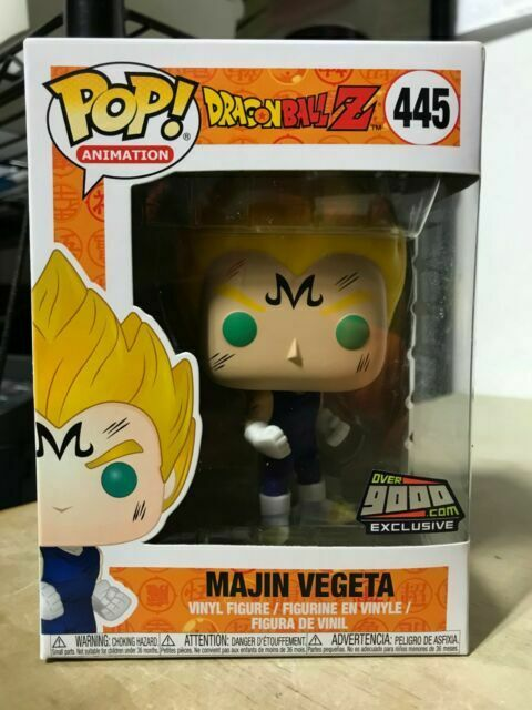 Funko POP Dragon Ball Z Majin Vegeta Super Saiyan Vegeta Vinyl Figure In Box US