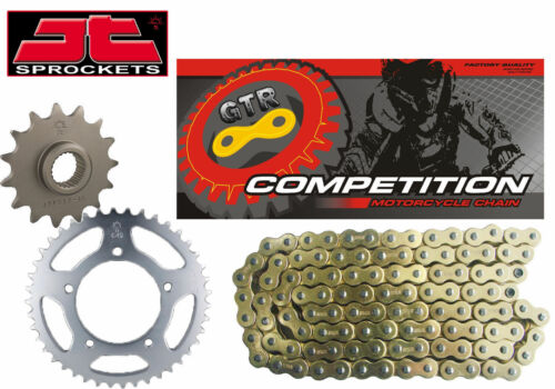 KTM 400 SC Super Competition 97-00 Gold Heavy Duty GTR Chain and Sprocket Kit
