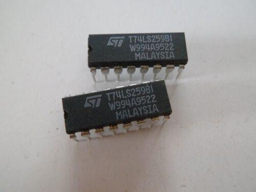 St Microelectronics t74ls259bi 8-bit addressable verrou interne * 10 pièces * NOUVEAU