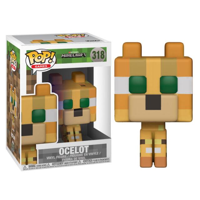 Funko 26385 Pop Vinyl Games Minecraft Ocelot