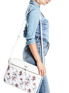 8eb5faf941aa Details about New Guess Women's Logo Floral Crossbody Case Laptop Cover  Case Sleeve