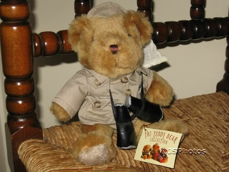 Teddy Bear Collection UK Edmond the Explorer Handmade