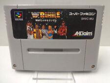 SNES Spiel - WWF Royal Rumble (JAP Import) (Modul)
