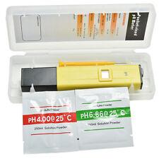 Digital PH Test Medidor De Pluma Digital Tester LCD Para Agua Piscina Aquario SP