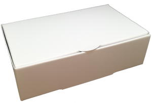 50-for-3-00-2-p-amp-p-White-Single-Slice-Wedding-Party-Cake-Favour-Boxes-BARGAIN