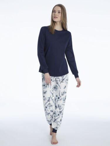 "Calida señora pijama /""Rosanna/"" pijama con pretina neu/&ovp 100/% algodón"