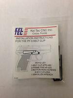 Kel-tec Pf9 Belt Clip, Blue