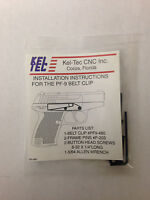 Kel-tec Pf9 Belt Clip, Stainless Steel