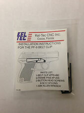 Kel-Tec PF9 Magazine 9mm 7 Round Blue Flat Bottom PF9-498 for sale