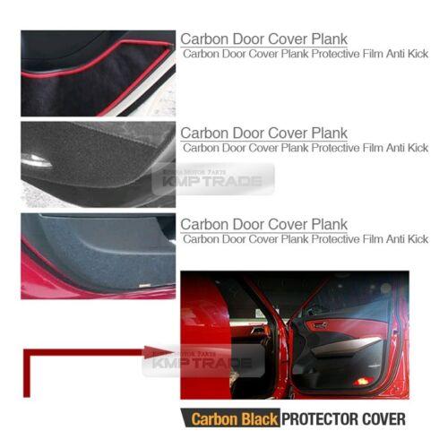 Carbon Door Decal Sticker Cover Kick Protector For KIA 2007-2012 Rondo Carens